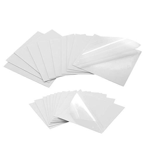 Cinta para sellado de costuras 10Pcs TPU Transparente Tenacious Reparación Parches 7x7CM para Arreglar Cualquier Fuga de Aire o Pincha, Piscinas e Hinchables