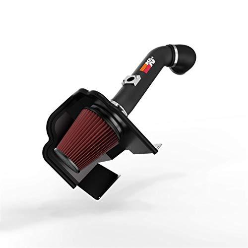 K&N Cold Air Intake Kit: High Performance, Guaranteed to Increase Horsepower: 2014-2015 Chevy/GMC Heavy Duty (Silverado 2500 HD, Silverado 3500 HD, Sierra 2500HD, Sierra 3500 HD) 6.0L V8, 77-3086KTK
