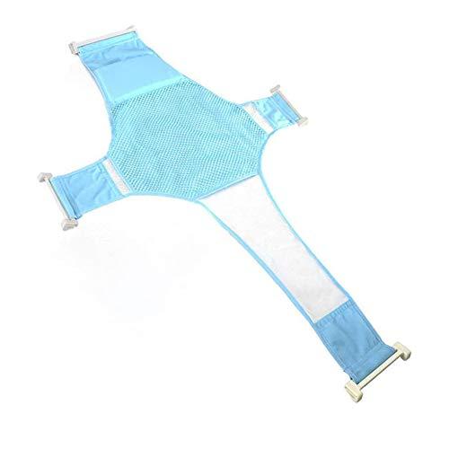 Lyt-223 Antiskid Cross-shaped bath accessories bath seat support newborn shower mesh for newborn or infant (86.8 * 58cm),Blue