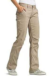 prAna - Women's Halle Roll-Up, Water-Repellent Stretch Pants for Hiking and Everyday Wear, Regular Inseam, Dark Khaki, 4 (B00A8N004U) | Amazon price tracker / tracking, Amazon price history charts, Amazon price watches, Amazon price drop alerts