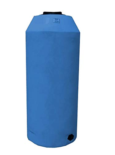 WECO Atmospheric Water Storage Tank for Potable Water (Blue) (300 Gal)