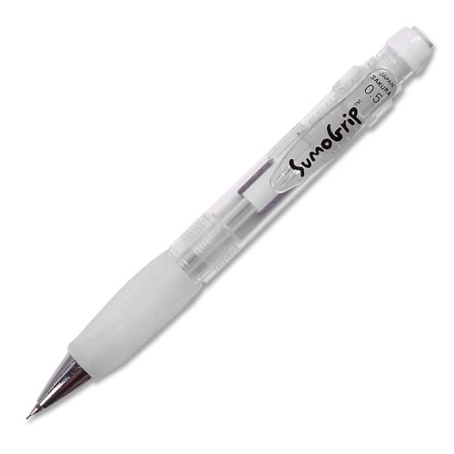 Sakura of America Sumo Grip Mechanical Pencil - 0.5 mm Lead Size - Clear Barrel - 1 Each