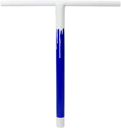 Lucky Pro Bar Guidon pour trottinette Blanc/Bleu 20\