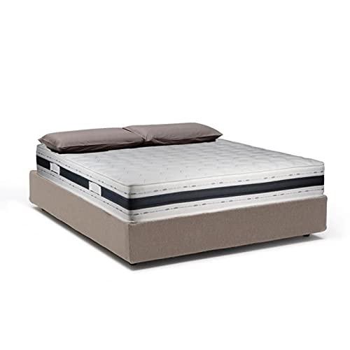 Sleepers Deluxe - Colchón para dormir (alta densidad, 25 kg/m3, material de alta calidad y duradero, características hipoalergénicas, ortopédico, alivio de dolores de espalda, grosor 22 cm)