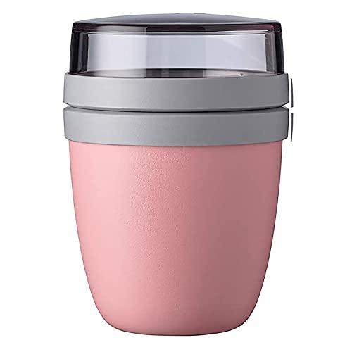 NRRN Tazón de almuerzo portátil, taza de conservación de viaje, taza de conservación de fresco, recipiente de conservación para guardar la taza de almuerzo