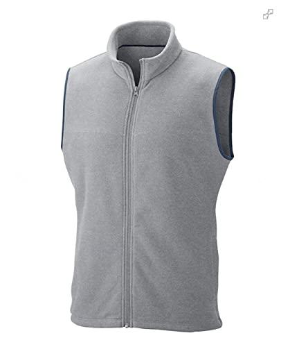 ADYK Cotton Fleece Sleeveless Bomber Jacket
