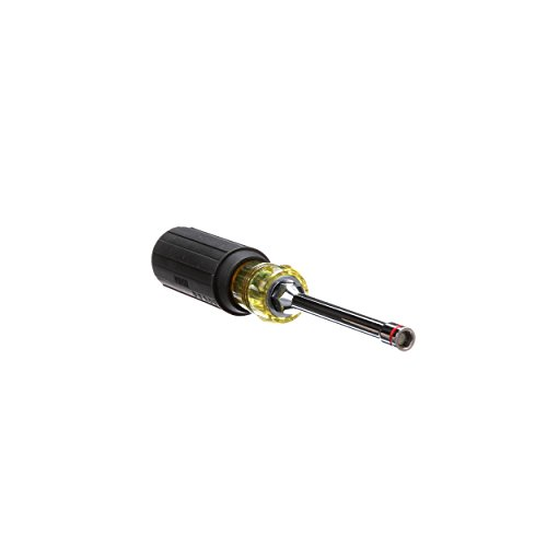 Klein Tools 65064 Hex Head 2-in-1 Nut Driver, 1/4-Inch and 5/16-Inch
