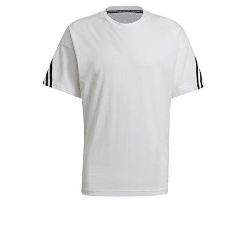 adidas GP9511 M FI tee 3S A T-Shirt Mens White M