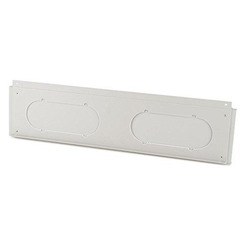 Klarstein Window Kit 3 Fensterabdichtung für mobile Klimageräte Pure Blizzard (verhindert Eindringen von Warmluft & erhöht Effizienz des Klimageräts, 20x7,6 cm Abluftschlauchöffnung, PVC) weiß