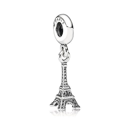 Pandora Jewelry - Paris Eiffel Tower Dangle Charm in Sterling Silver