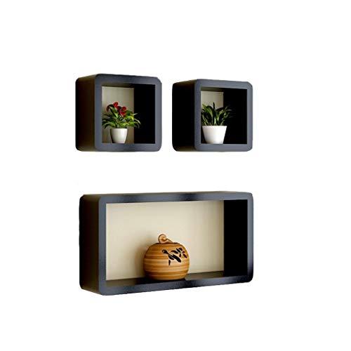 FANGQIAO SHOP-Shelf TV achtergrond Decoratieve creatieve rooster wandplank Laminaat Wandwand TV kast planken plank Shelf-10.18