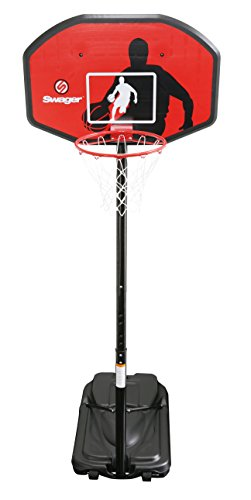 XQ Max Stand SR1 Portable Basketball, rot, One Size