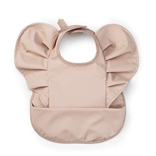 Elodie Details Baby Lätzchen Skandinavisches Design Wasserfest - Powder Pink, Rosa