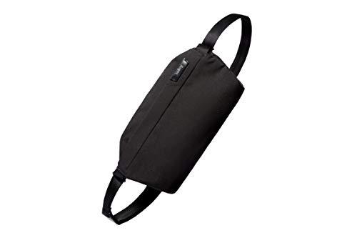 Bellroy Sling Bag (Unisex Kompakte Umhängetasche, Bauchtasche, Wasserabweisende Materialien) - Black/Schwarz