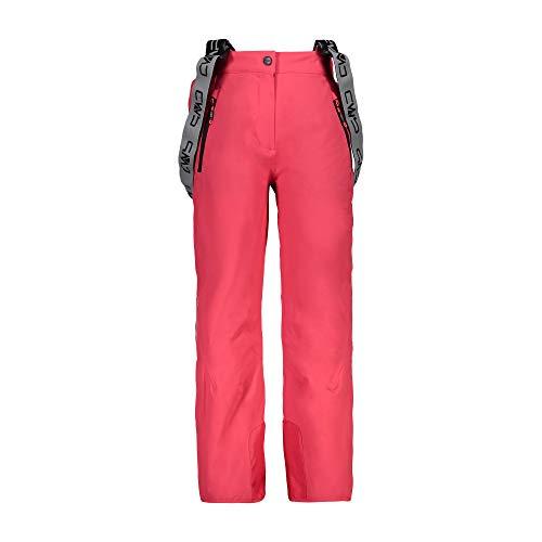 CMP skibroek snowboardbroek Girl Salopette roze waterdicht ademend elastisch