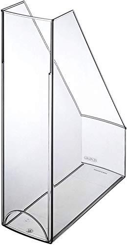 Herlitz 10778512 Stehsammler A4-C4 hochglanz transparent glasklar Kunststoff