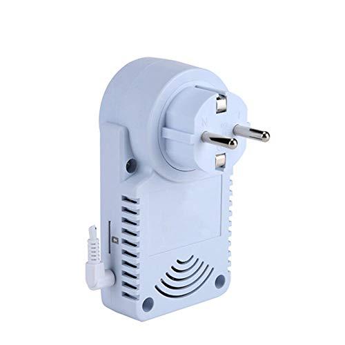 Lishaodonglishaodon gsm Chic Power Outlet Plug Socket English Russ Russ Russ SMS Control Distante Interruptor de Tiempo Controlador de Temperatura con Sensor