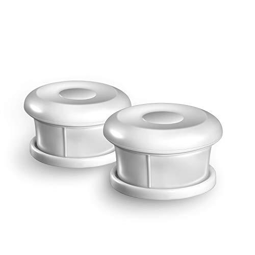 Dokon Ersatz Schlüssel für Babysicherheit Magnetisches Schrankschloss, Supermagnet für die meisten Kinderschränke und Schubladenschlösser, ohne Bohren oder Schrauben, 2 Schlüssel