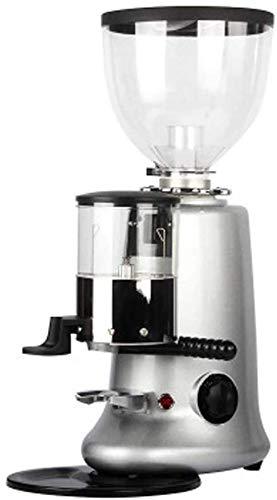 Cafetera Cafetera Italian Coffee Grinder eléctrico comercial Grinder Grinder Molienda 10 Archivos 1.2 Plata RVTYR