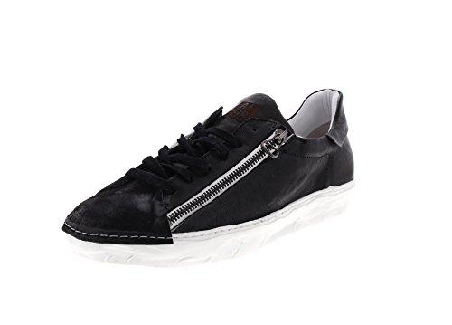 A.S.98 Herrenschuhe - Sneaker 453103 - Nero, Größe:44 EU