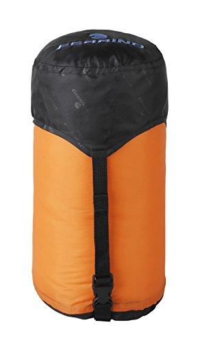 Ferrino 86049W -Bolsa de compresión para Saco de Dormir, Color Naranja, 60x 25cm