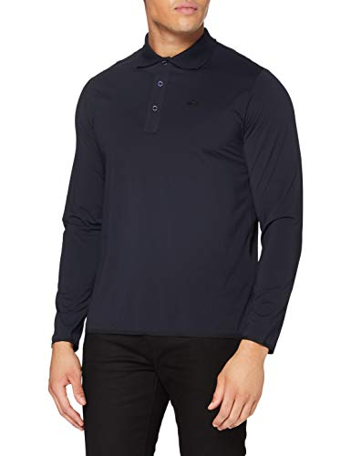 REPLAY M3208 .000.20643 Camisa de Polo, 500 Azul Medianoche, XL para Hombre