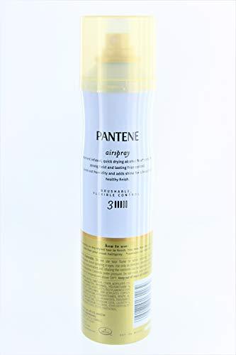 Pantene Air Spray 3 Dot Hair Spray Brushable Strong Hold 7 Ounce (207ml) (2 Pack)