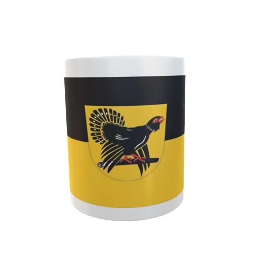 U24 Tasse Kaffeebecher Mug Cup Flagge Landkreis Freudenstadt