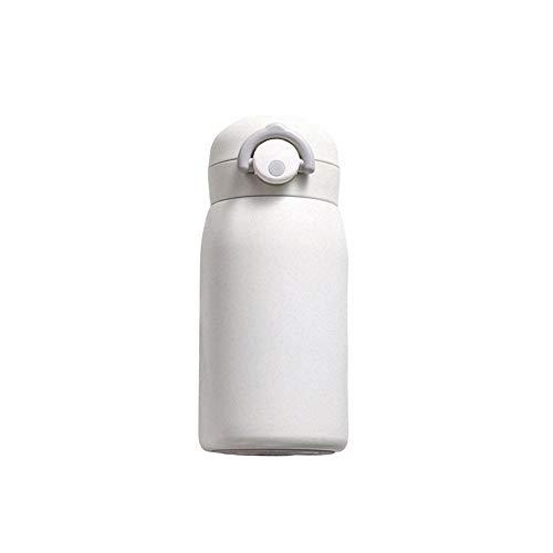 HFJLL Botella de Agua de Acero Inoxidable Termo de café a...