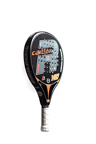 Royal Padel RP M27 2019 Racchette da paddle, Adulti, Unisex, Arancione, Nero, Carbonio, Grigio, Taglia Unica