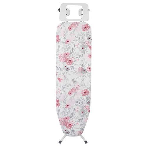 Kleeneze Floral Tabla de Planchar Plegable con diseño KL058270UKFLOREU, 114 x 34cm, 114 x 34cm