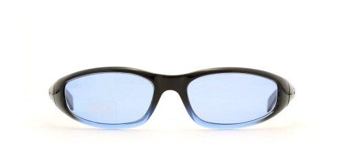 Gianfranco Ferre Damen Sonnenbrille, quadratisch, zertifiziert, Vintage-Design, Schwarz / Blau, 10 Stück