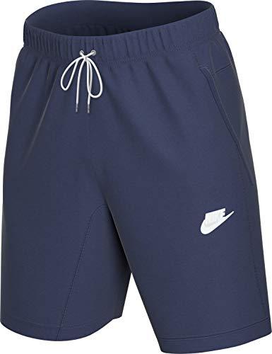 Nike Pantalón corto moderno Essential azul oscuro, talla M