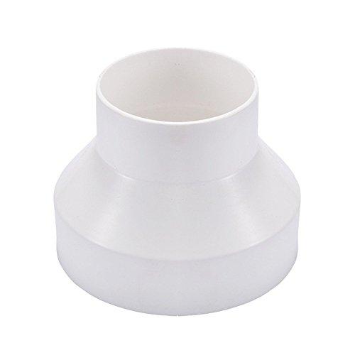 Hon&Guan Leitungssystem Reduzierstück Adapter für Rohrventilator, Reduzierverbinder Reduzierstück Reduktion Rohr Übergang Lüftung Rundrohr Ventilation Lüftungskanal Ventilator (200mm bis 150mm)