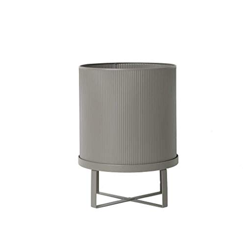 Ferm Living Jardinière en métal - Gris Chaud - 38 cm