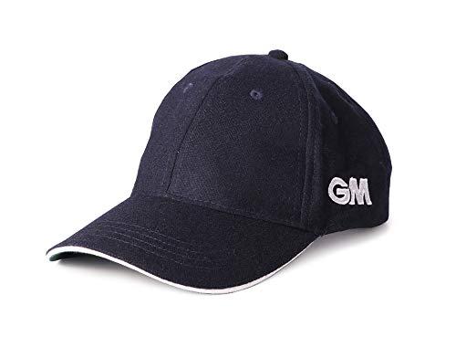 GM Gunn and Moore - Gorra de críquet Azul Azul Marino Talla:Talla única