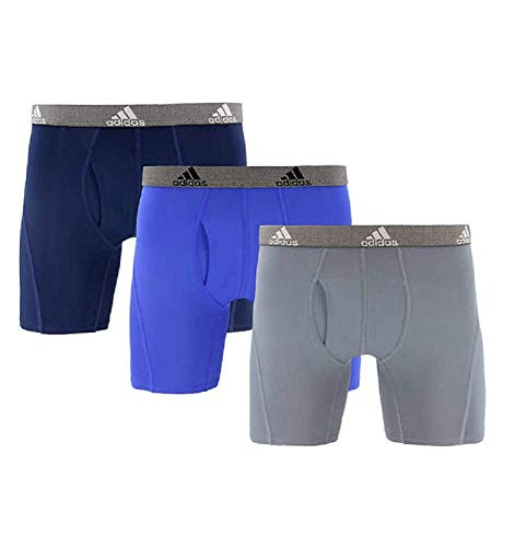 Adidas Men's Relaxed Performance Quick Dry Climate Boxer Underwear (3 pk) - NEW