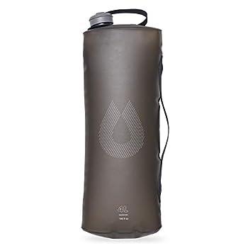 Hydrapak Seeker 4l-réservoir d'eau Pliable et Ultra résistant HYD3SEEK4B Adulte Unisexe, Gris Mammouth