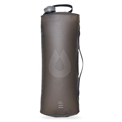 Hydrapak Unisex-Adult Seeker 4L-Ultraleichter und robuster Wasserbehälter, Mammoth Grey