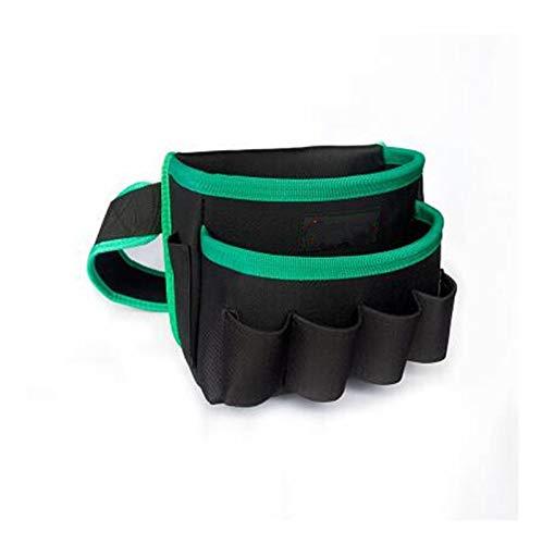 Cinturón Portaherramientas Bolsa multifuncional de tela Oxford almacenamiento de herramientas a prueba de agua bolsa de la cintura Maleta bolsa de almacenamiento (Color : J)