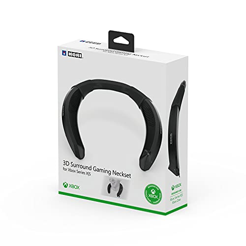 Hori - Auriculares de cuello con audio 3D - Micrófono integrado con cancelación de eco - Licencia oficial (Xbox Series X)