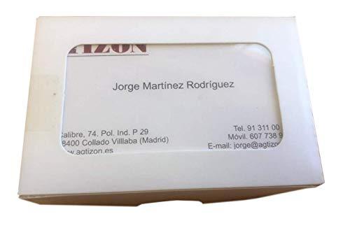Tarjetas de Visita personalizadas impresas a una cara (100 tarjetas)