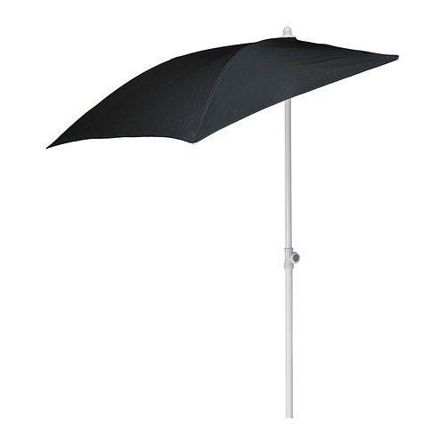 """Wand-Sonnenschirm""""Flisö"""" Balkon-Standsonnenschirm 160x100cm Fläche - mit 95% UV-Schutz"""