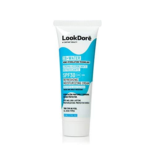 Lookdoré IB+WATER - Crema Hidratante Refrescante SPF30, 50 ml
