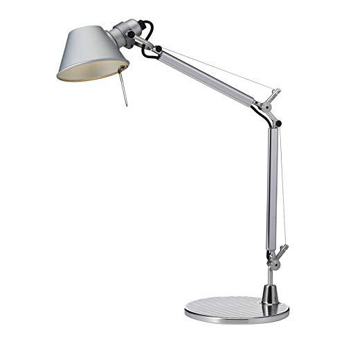 Artemide Tolomeo Micro LED Lampe de table gris anodisé