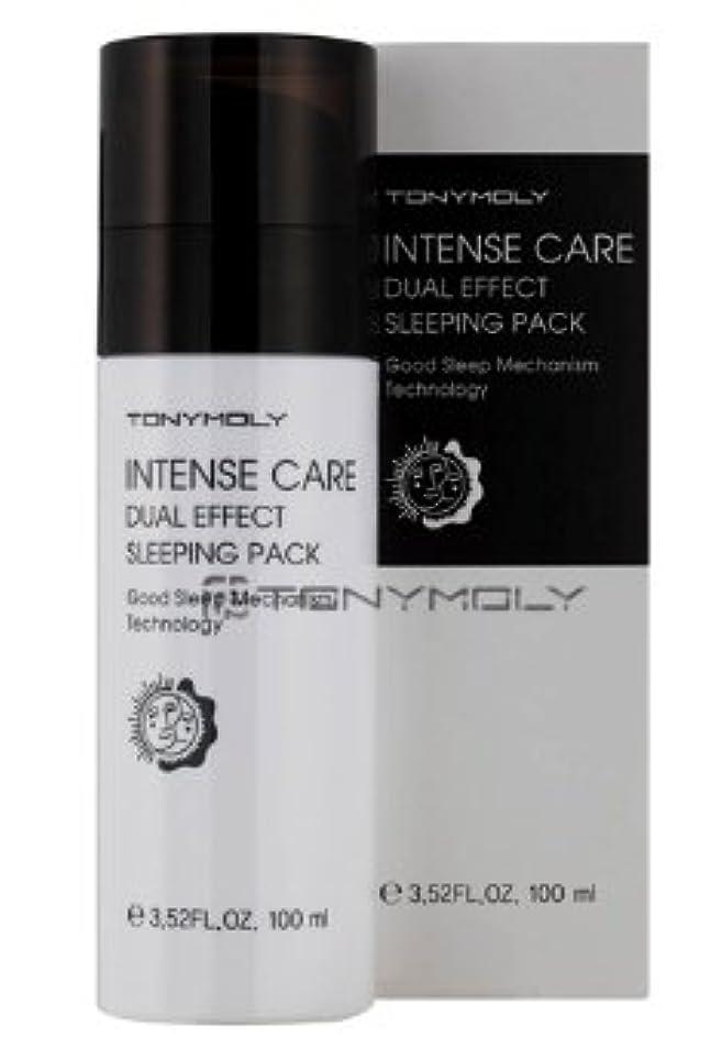 堂々たる定常現金TONYMOLY(トニーモリー) Intense Care Dual Effect Sleeping Pack インテンス ケア デュアル エフェクト...