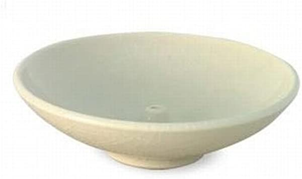 Shoyeido HandCrafted Ceramic Round Incense Burner Holder Ivory