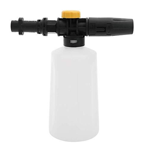 750ML Hochdruck Schneeschaumlanze Wasserpistole Seifenschaumgenerator Auto-Waschmaschine mit einstellbaren Sprühdüse für Kärcher K2 K3 K4 K5 K6 K7