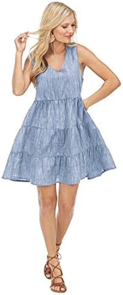 Mud Pie Women Ivy Tiered Dress