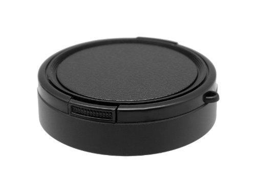 Photo Plus Lens Hood/Lens Cap for Fujifilm X30 X20 X10 Black